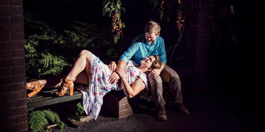 Cara & Josh's Mt.Coot-tha Botanic Gardens Engagement