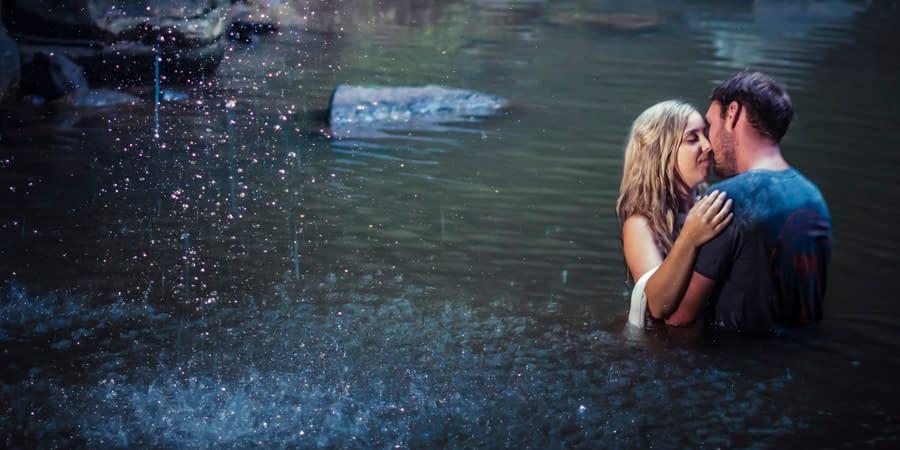 Chivonne & brayden's Buderim Waterfall Engagement