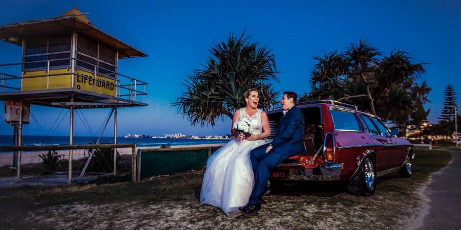 Shannon & Lisa's Tugun Beach Wedding