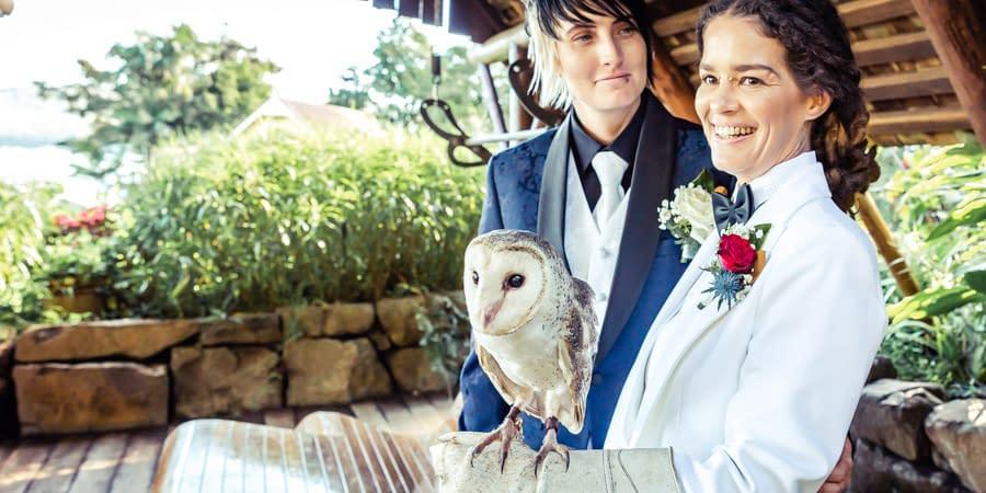 Heather & Amanda's Montville Secrets on the Lake's Wedding-1b