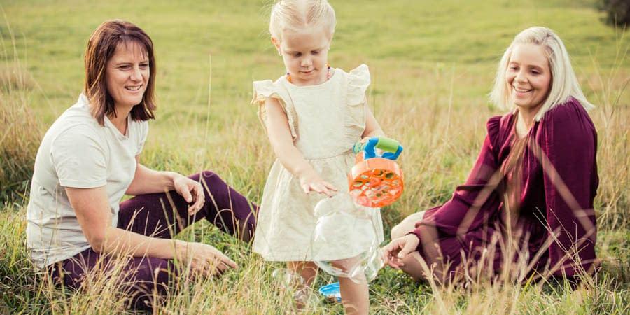 Maci & Carmen's Gympie Family Lifestyle Session